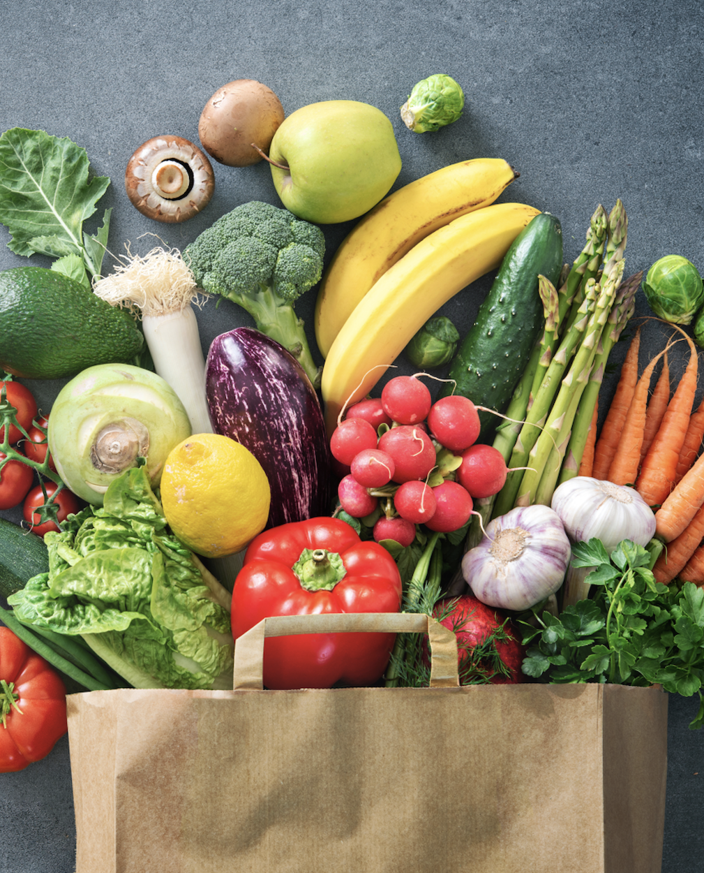 Eat smart, nutritious foods everyday of the week.
