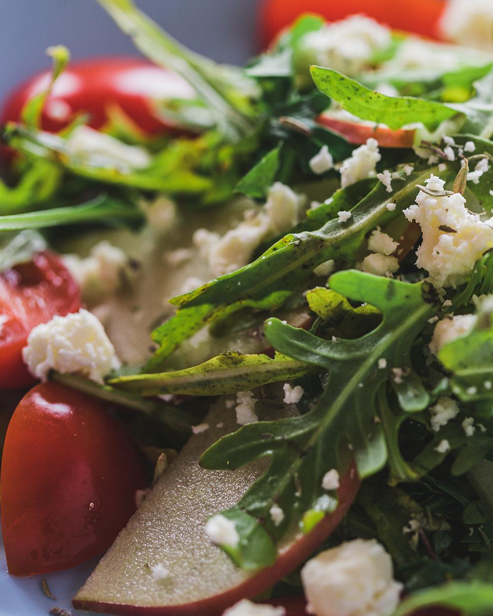 Deliciously Healthy Arugula Salad